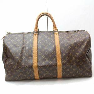 Auth Louis Vuitton Keepall 55 Travel Bag #1502L21